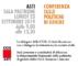 Conferenza sulle politiche di genere, con Susanna Camusso